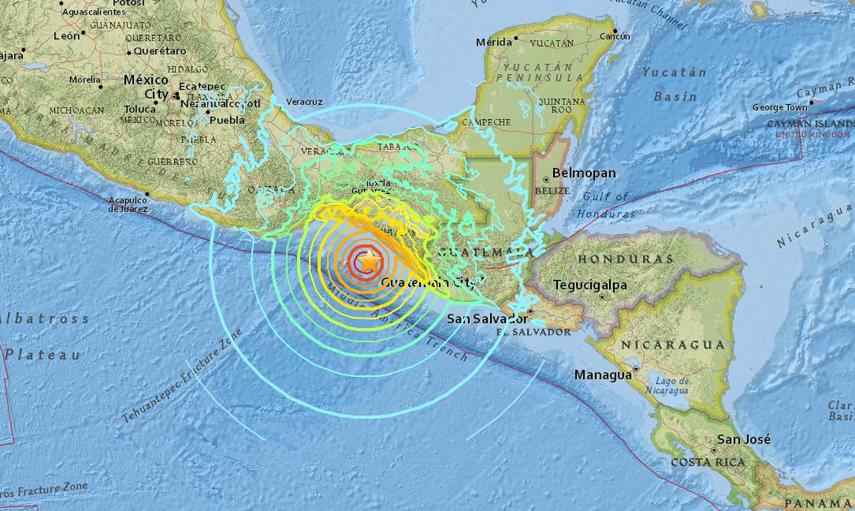 LAMPUNG POST | Gempa Berkekuatan 8 SR Guncang Meksiko, Tsunami Ancam 8 Negara