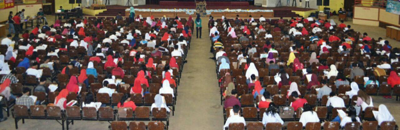 Ribuan Pelajar SMA Bandar Lampung Ikut Try Out MKKS