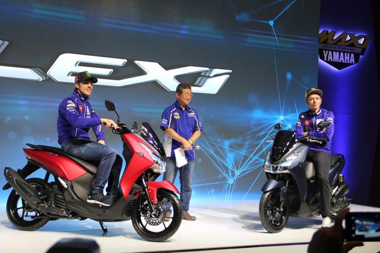 Yamaha Lexi Resmi Mengaspal di Indonesia