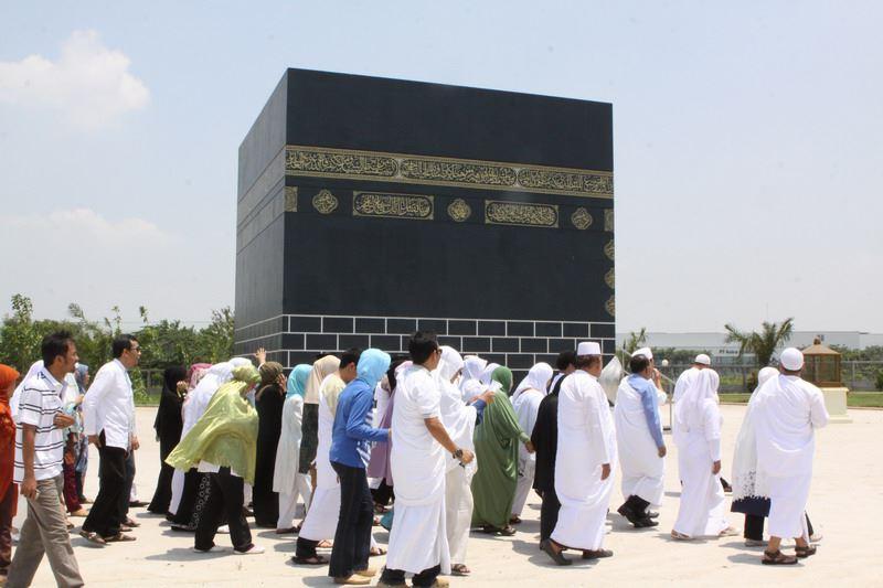LAMPUNG POST   5582  Jemaah Calon Haji Lampung Utara Ikuti Manasik Haji