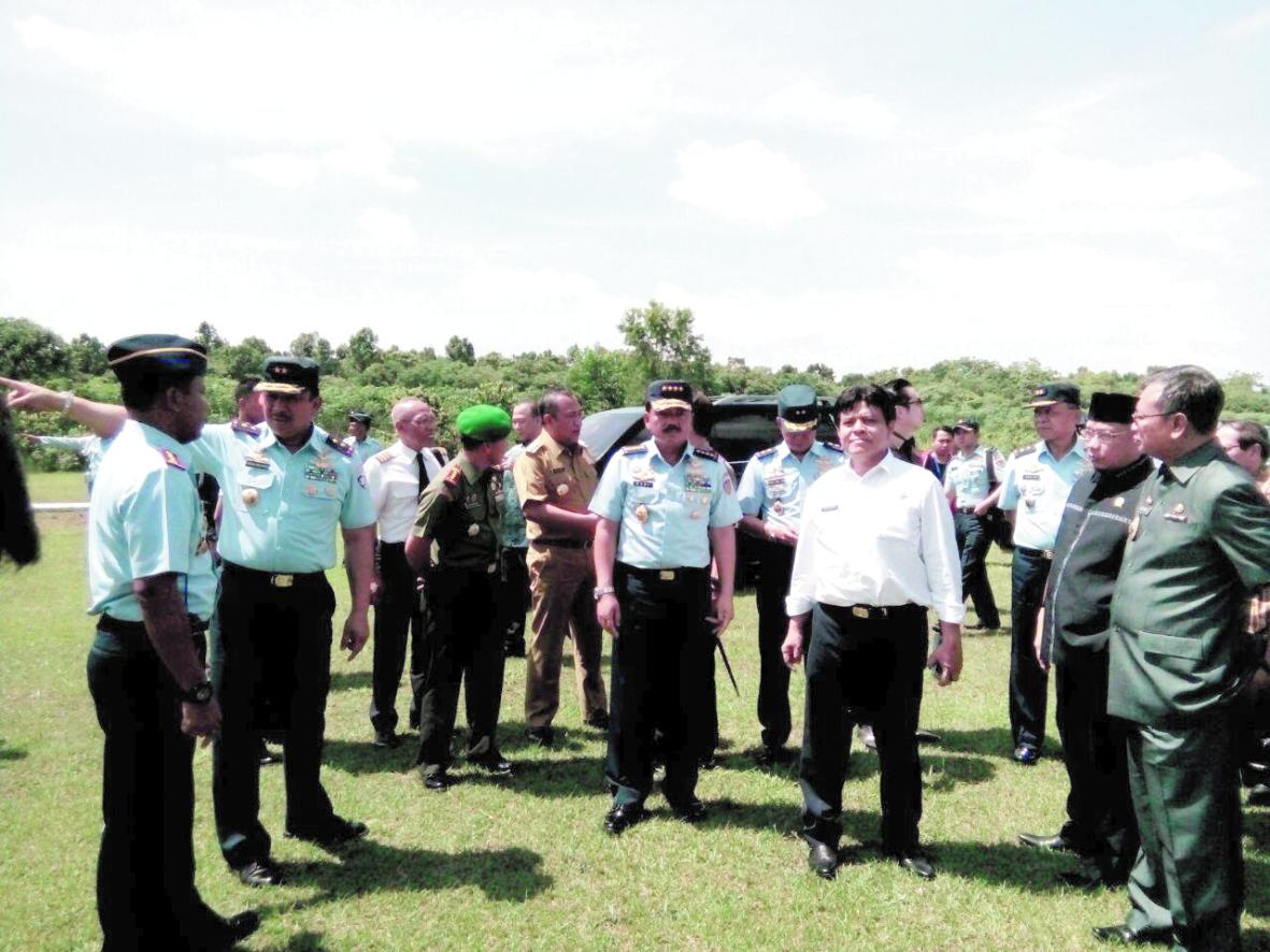LAMPUNG POST | TNI AU dan Dirjen Perhubungan Udara Dukung Lanud Pangeran M Bun Yamin Jadi Bandara Komersial