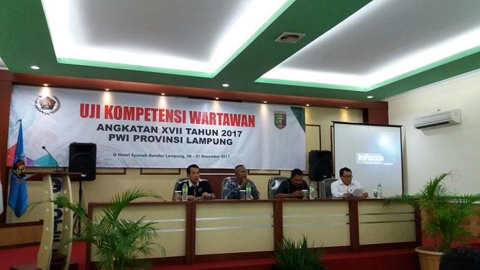90% Wartawan di Lampung Berkompeten