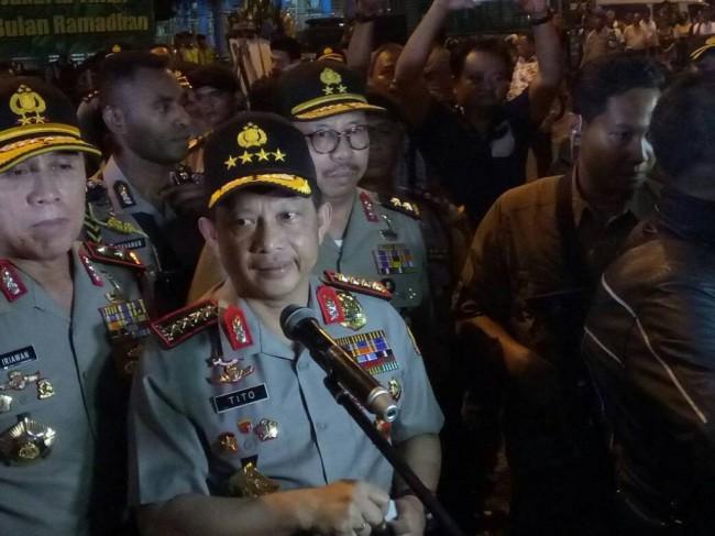 LAMPUNG POST | Kapolri Klaim Satgas Saber Pungli Telah Menangkap 2.148 Tersangka