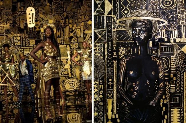 LAMPUNG POST | SoundtrackFilm Black Panther Dituding Caplok Karya Seni