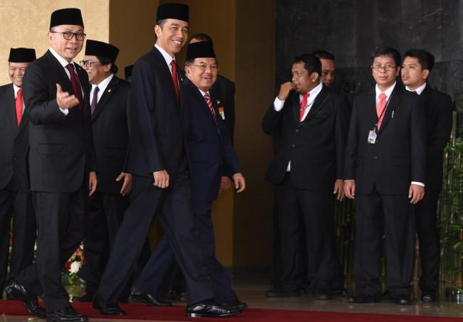 LAMPUNG POST | Tiga Tahun Jokowi-JK, Pemberantasan Korupsi Masih Jadi Tugas Berat