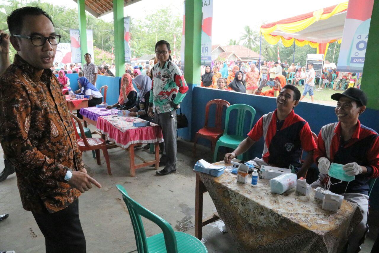 LAMPUNG POST | 18 Bhakti untuk Lampung Gelar Pengobatan Gratis di Way Kanan