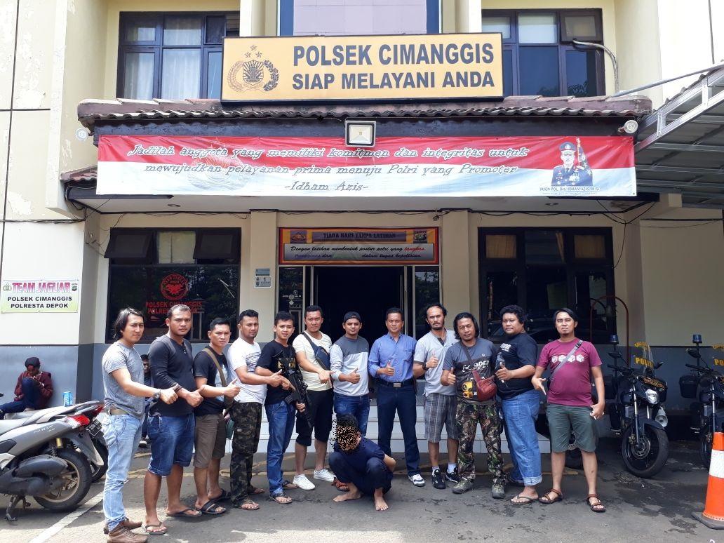 Buron 1 Tahun, HY Dibekuk Tekab 308 Polres Tanggamus di Cibubur