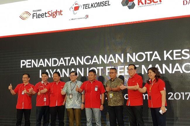 Berikan Solusi IoT, Telkomsel Luncurkan Fleet Sight