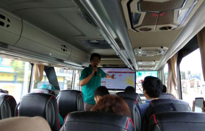 LAMPUNG POST | Indosat Ooredoo Drive Test 4G Plus di Lampung