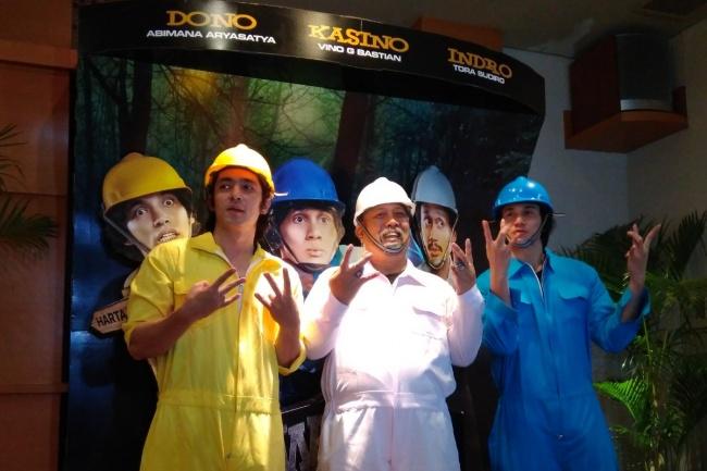 LAMPUNG POST | Dukung Tora Sudiro, Pemain Warkop DKI Reborn: We are Family