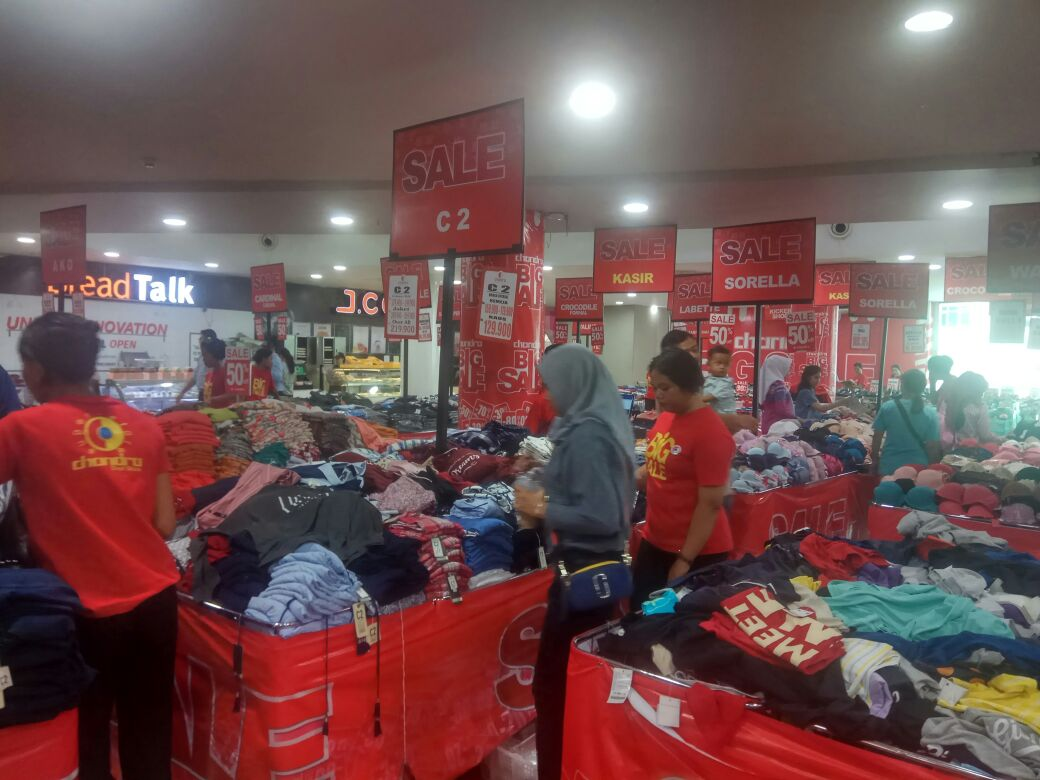 Chandra Promosi Big Sale 50 Persen