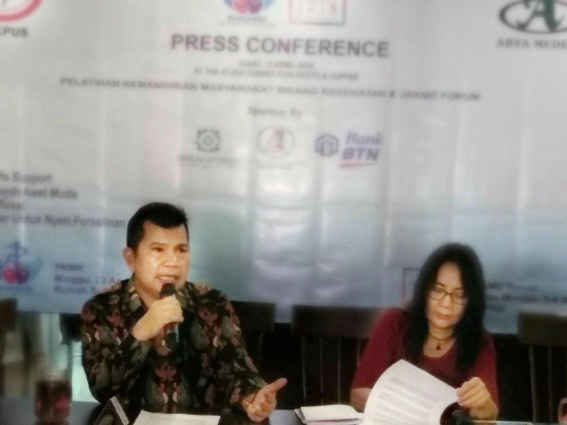 LAMPUNG POST | IDI-LPP Arya Medika Helat Seminar dan Workshop Kesehatan