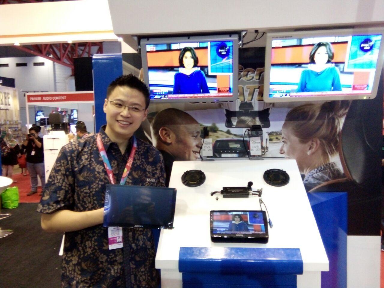 LAMPUNG POST | Asuka Car TV Luncurkan PTA-310 di IIMS 2018