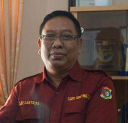 LAMPUNG POST | Soesanto Pimpin Siger  Shooting Club Lampung