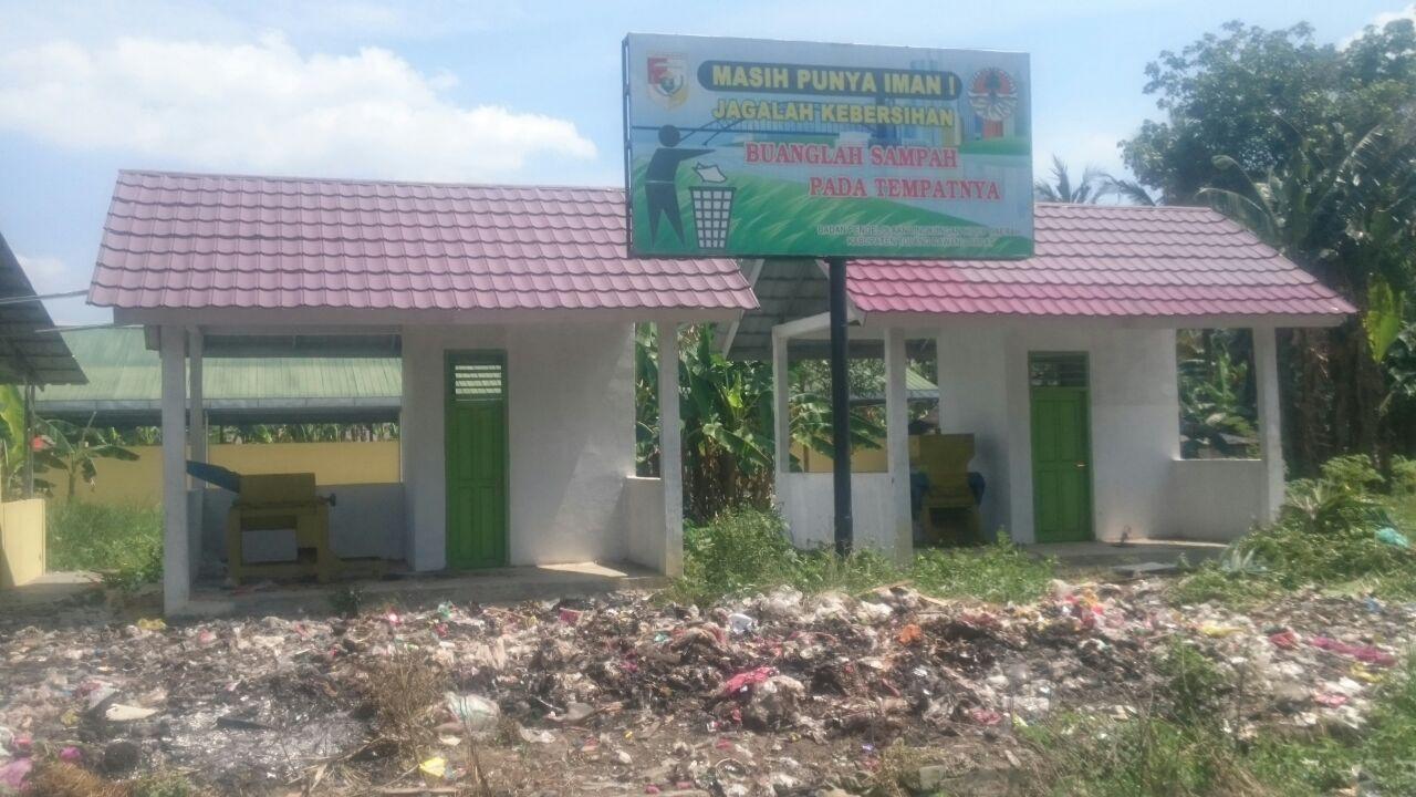 LAMPUNG POST   Tak Digunakan, Bangunan dan Mesin Pencacah Sampah di Panaraganjaya Mubazir