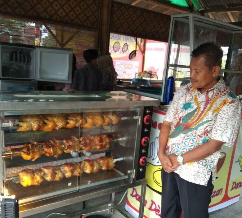 Ayam Guling Non-kolesterol di RM Dana Dezan Pringsewu