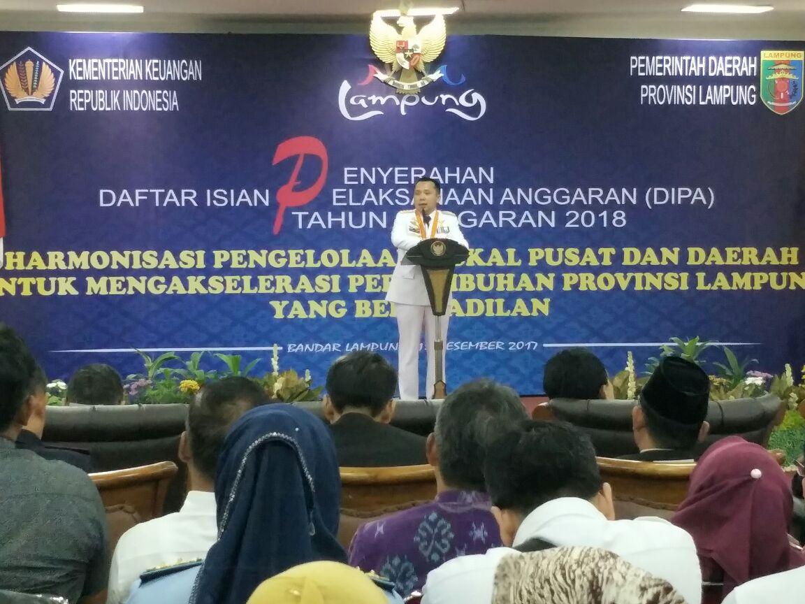 Kanwil DJPb Mantapkan Anggaran 2018 untuk Kesejahteraan Lampung