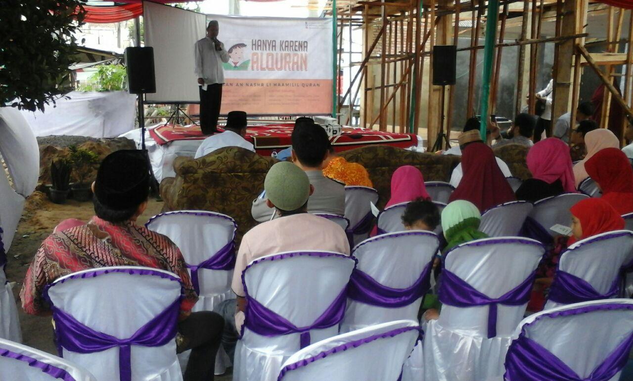Sekolah Berbasis Agama TK An Nashr Islamic Shcool di Jalinpatim Lamsel Diresmikan