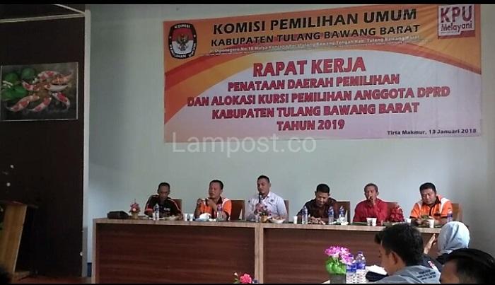 LAMPUNG POST | Berikut Dapil dan Alokasi Kursi Pileg 2019 DPRD Tubaba