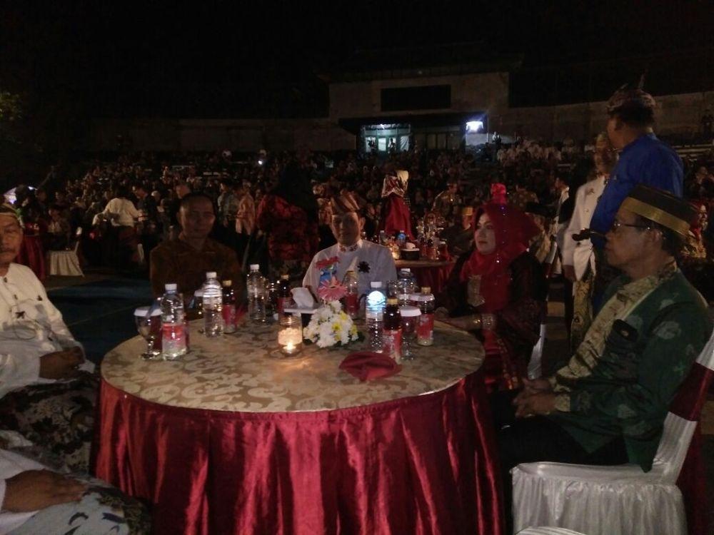 LAMPUNG POST | Peserta Festival Keraton Nusantara XI Dijamu Makan Malam