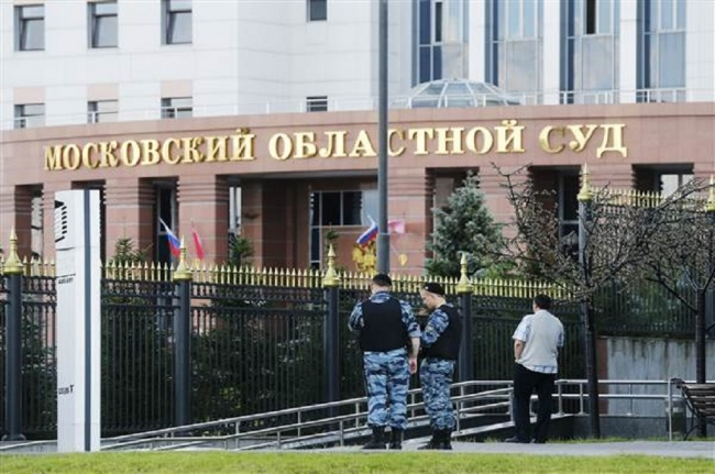 LAMPUNG POST | Baku Tembak di Pengadilan Moscow, Tiga Terdakwa Tewas