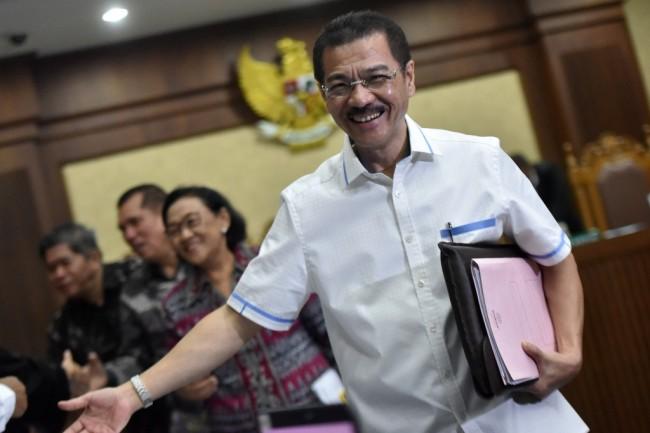 Gamawan Fauzi Bersaksi di Sidang Novanto