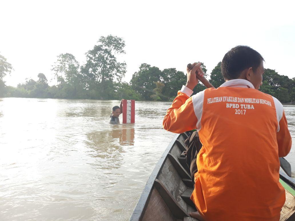 LAMPUNG POST | Hujan Deras Malam Ini, BPBD Tuba Minta Warga Waspadai Banjir