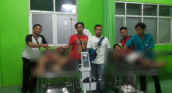 LAMPUNG POST   Dua Pelaku Pembunuhan Warga Kualateladas Dibekuk 2 Jam Usai Kejadian