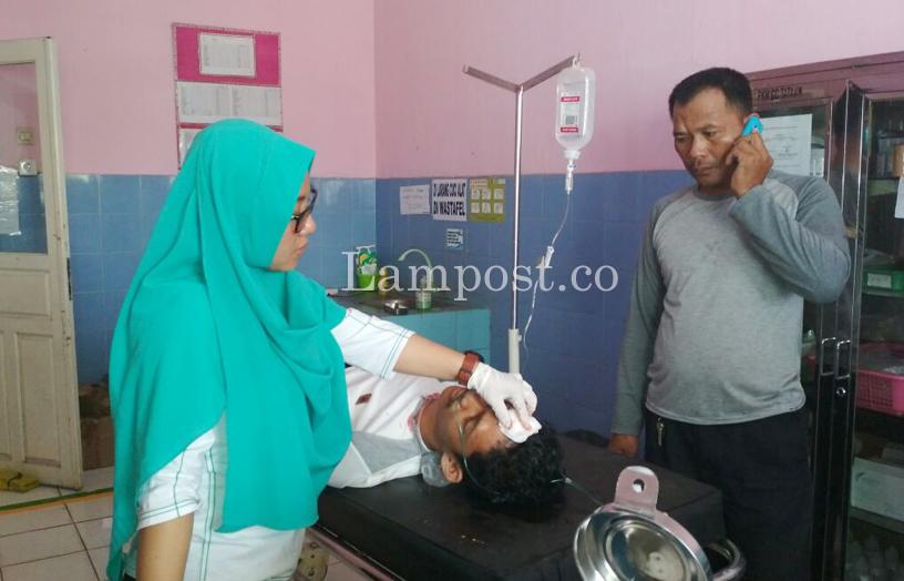 LAMPUNG POST | Jadi Korban Tabrak Lari di Pesawaran, Mahasiswa Poltekkes Kritis