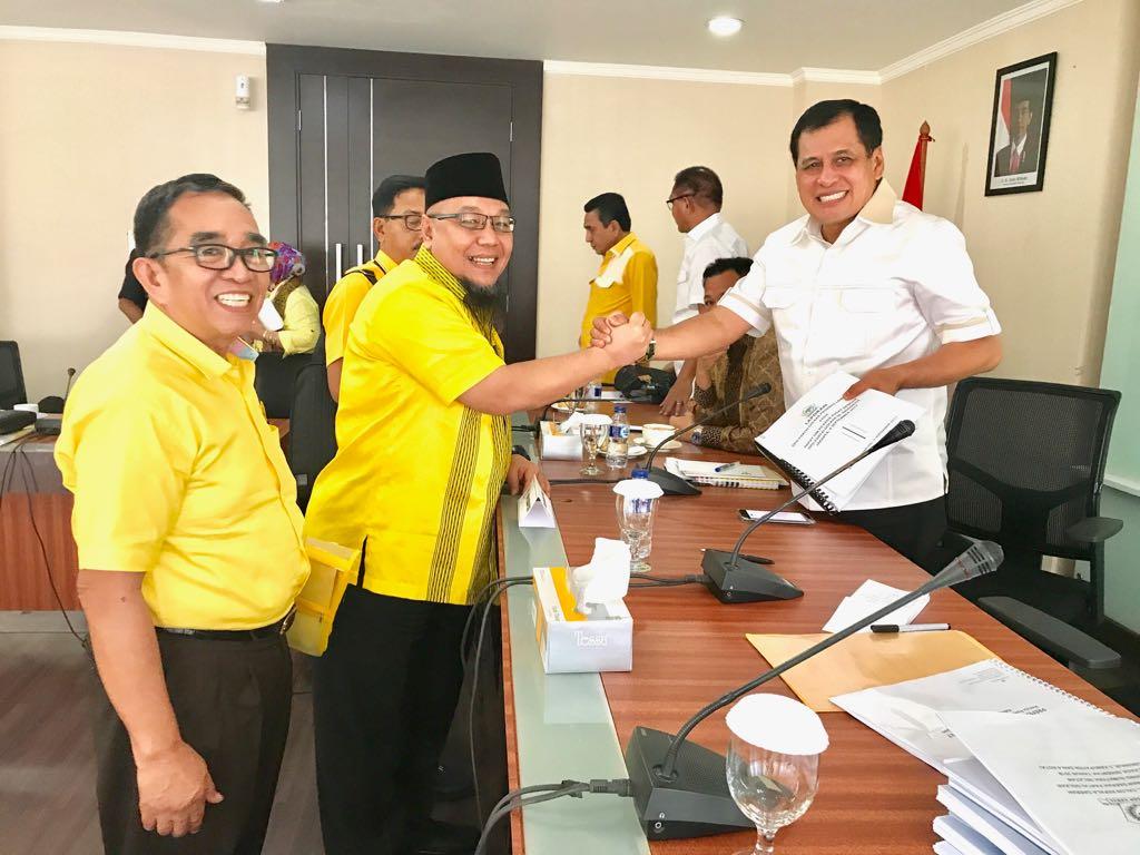 LAMPUNG POST | Golkar Rekomendasikan Aprozi Alam Jadi Cabup Lampung Utara