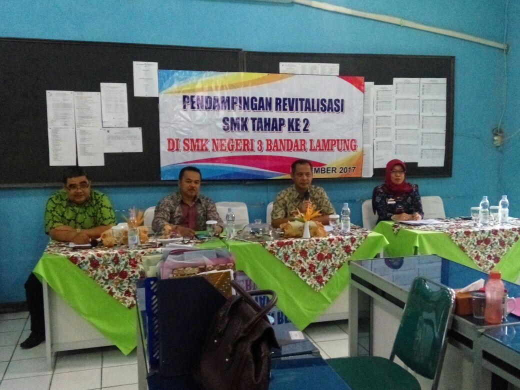 Disdikbud Lampung Dukung Revitalisasi SMK