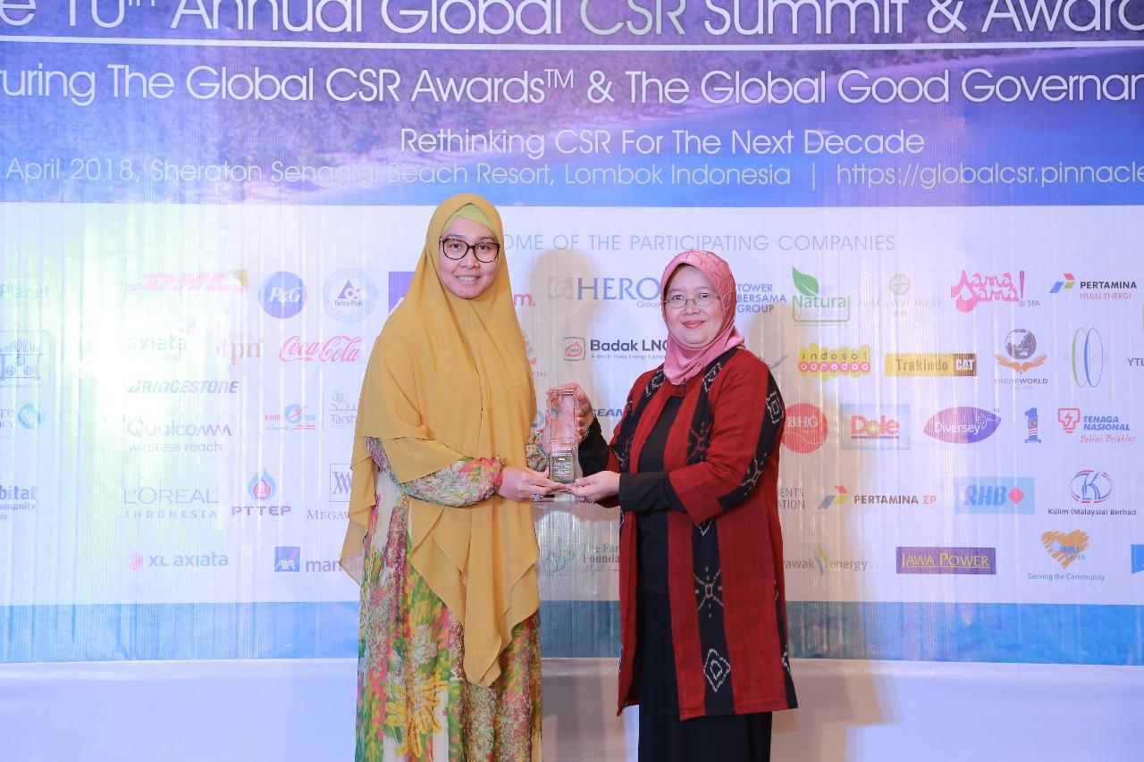 LAMPUNG POST | Samsung Electronics Indonesia Terima Penghargaan