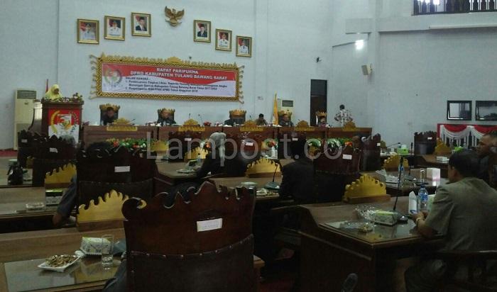 LAMPUNG POST | DPRD Tulangbawang Barat Bahas RPJMD 2017-2022