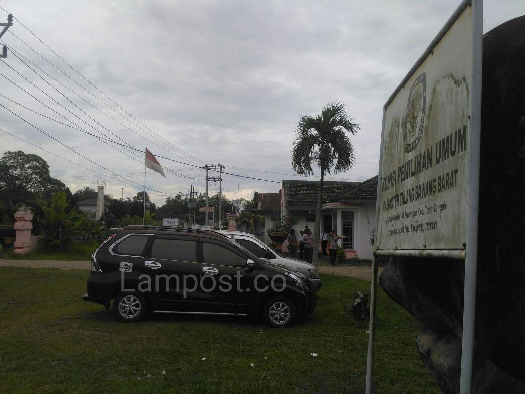 LAMPUNG POST |  Belum Ada Partai Susulan Serahkan Salinan Sipol ke KPU Tubaba