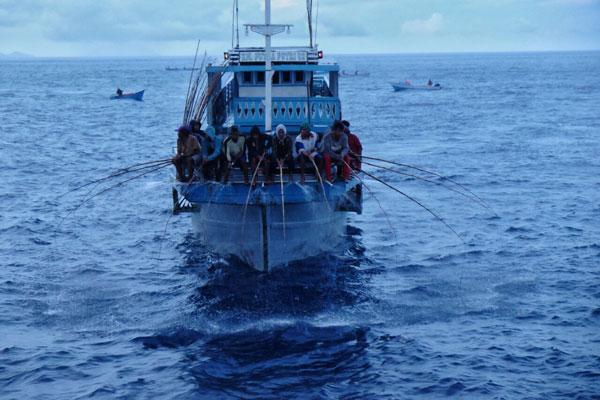 LAMPUNG POST   Tim Ekspedisi Terios 7 Wonders Menikmati Pesona Memancing Cakalang