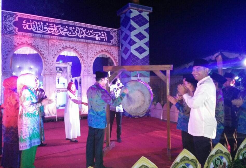 LAMPUNG POST | Bupati Raden Adi Pati Buka MTQ ke-14 Kabupaten Way Kanan