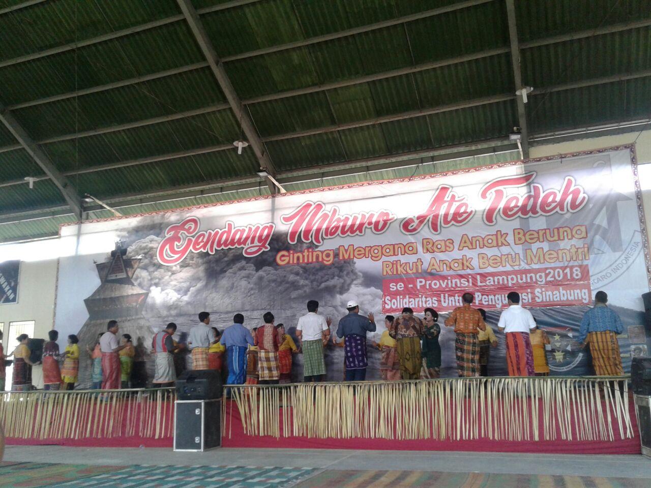 Perpulunggen Ginting Gelar Silaturahmi
