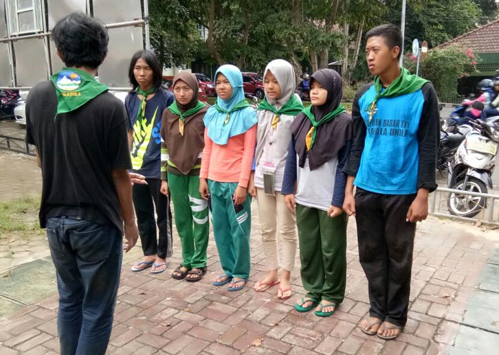 Mapala Unila Sukses Luluskan Enam Anggota Muda