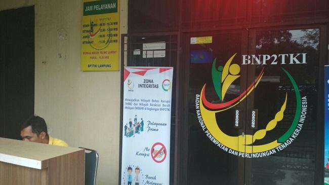Lampung Urutan Tujuh Soal Pengaduan Masalah TKI