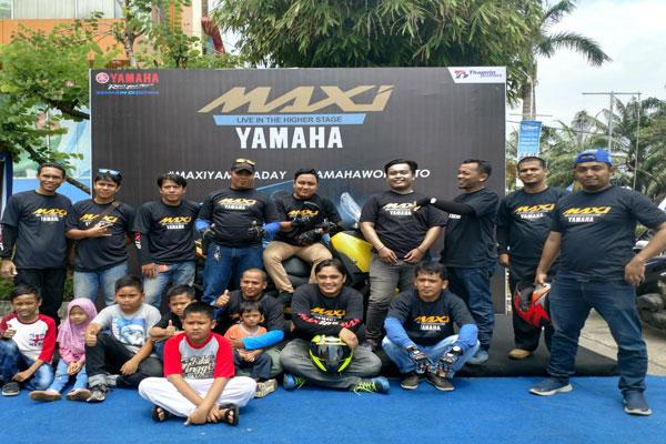 LAMPUNG POST | Yamaha Gelar #MAXIYAMAHADAY di Palembang