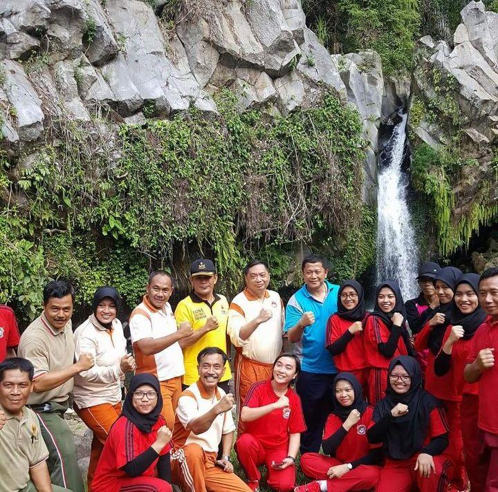 Mahasiswa Unhan Kunjungi Wisata Waylalaan
