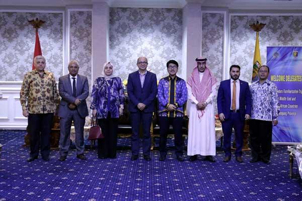 Daya Saing Tinggi, Dubes Timur Tengah Jajaki Investasi di Lampung