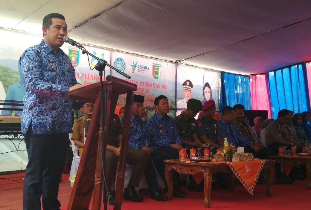 LAMPUNG POST | Desa Bogorejo Wakili Pesawaran Lomba P3KSS dan GSI Tingkat Provinsi