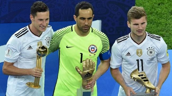 LAMPUNG POST | Pemain Jerman Dominasi Penghargaan Individu Piala Konfederasi