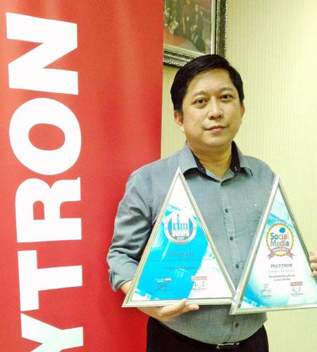 LAMPUNG POST | Polytron Sabet Dua Penghargaan Digital Marketing