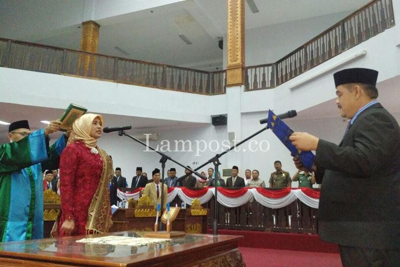 LAMPUNG POST | DPRD Tubaba Gelar Paripurna PAW Sri Handayani