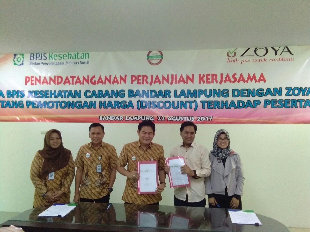 LAMPUNG POST | Tunjukan Kartu JKN-KIS, Berbelanja di Zoya Lampung Diskon 15 Persen