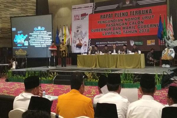 LAMPUNG POST | Herman HN-Sutono Janjikan Jalan Mulus dan Kedaulatan Pangan
