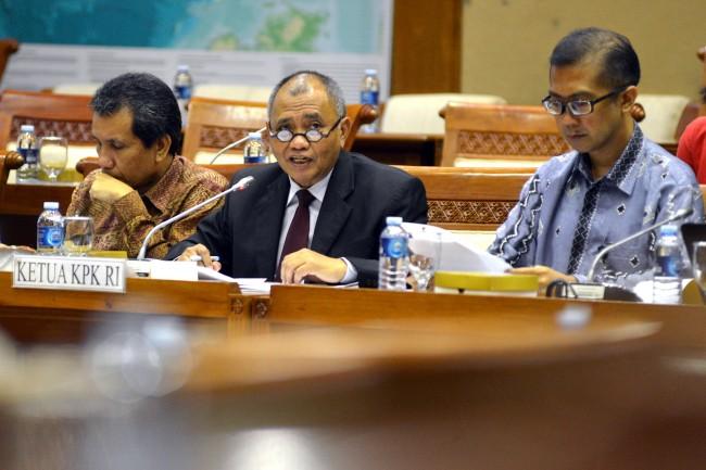 LAMPUNG POST | KPK Tegaskan Dana Parpol dari Pemerintah bukan untuk Pilkada