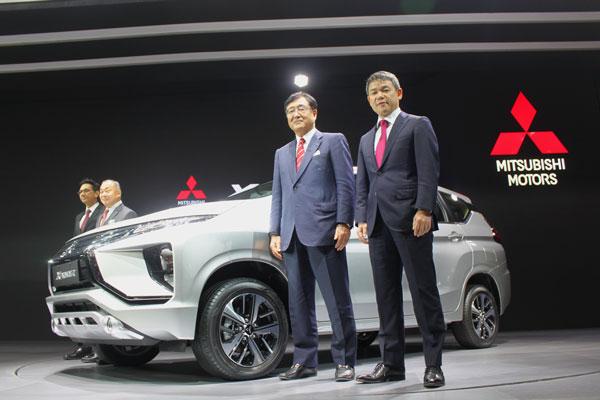 LAMPUNG POST | Mitsubishi Xpander Resmi Debut Dunia di GIIAS 2017